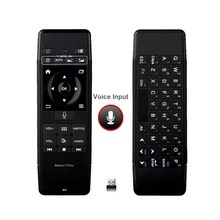 NeonTek 2.4Ghz Mini Wireless keyboard-Air Mouse-Voice Remote – With Mic & Infrared Learning ideal Android TV Box, pc, projector