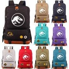 Multicolor Jurassic Dinosaur Skull Skeleton Boy Girl School bag Women Bagpack Teenagers Schoolbags Canvas Men Student Backpack