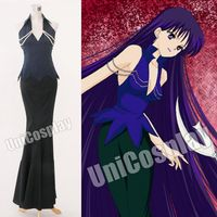 Sailor Moon Mistress 9 Dress Cosplay Costume Woman Party Evening Gown Halloween Uniform Fancy Slim Long Christmas Costume