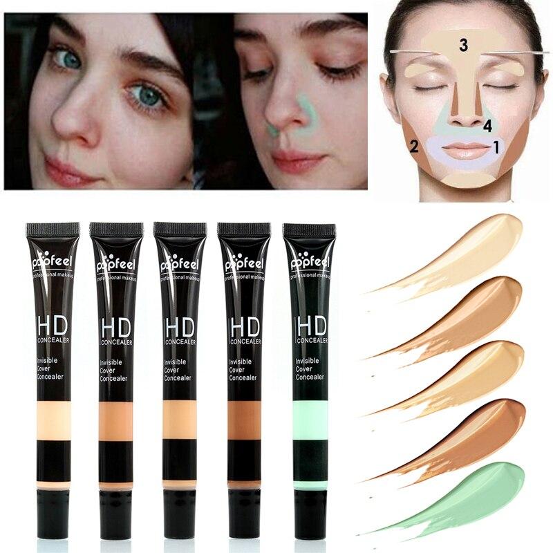 3d9f12950675a Base Maquiagem Make Up Face Concealer Cream Foundation Makeup ...