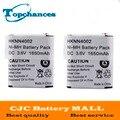 2 pcs 3.6 v 1650 mah ni-mh eleoption bateria de alta qualidade para motorola hknn4002a hknn4002b kebt-071b kebt-071c frete grátis