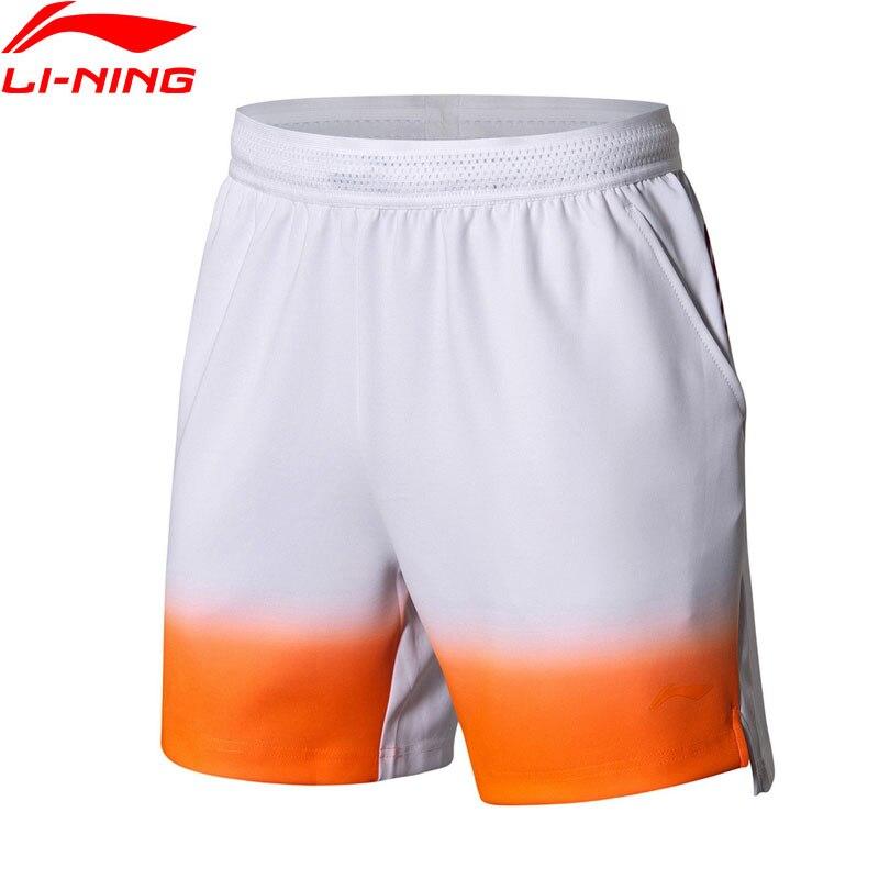 Li Ning Men s Badminton Shorts AT DRY 87 Polyester 13 Spandex National Team LiNing Sports