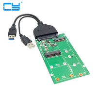 USB 3 0 To 12 6pin SSD HDD To SATA 22Pin Hard Disk Cartridge Drive For