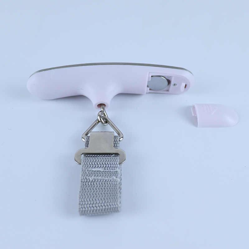 Novo display LCD digital escala de bagagem eletrônico portátil 50kg pesca barra de equilíbrio de peso pesando escala gancho portátil