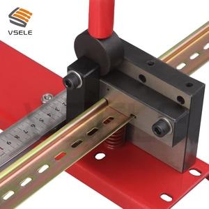Image 5 - Din schiene cutter, R310BEK din schiene schneiden werkzeug, einfach cut mit messen lehre cut mit lineal