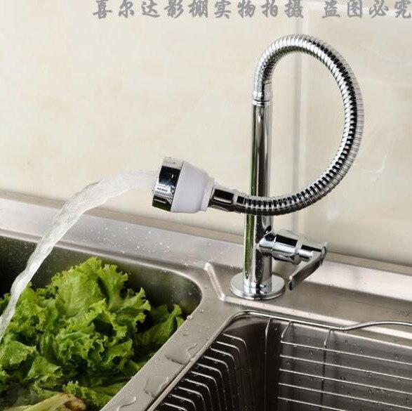 single cold water brass kitchen sink faucet kitchen tap