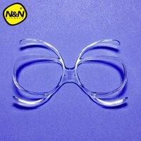 NANDN Ski Goggles Myopia Glasses Frame Skiing Snowboard Goggles Myopia Lens Frame Sunglasses Adapter Myopia Inline