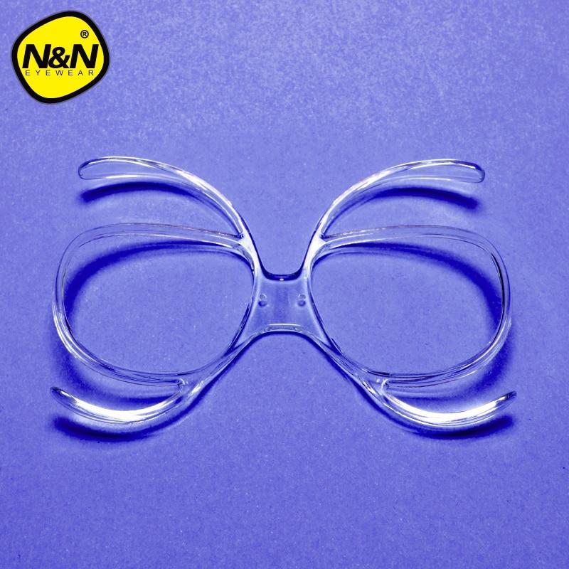NANDN Ski Goggles Myopia Glasses Frame Skiing Snowboard Goggles Myopia Lens Frame Sunglasses Adapter Myopia Inline Frame