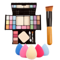 Best Selling Makeup Set with Makeup Gift Kits Set Sponge Puff Powder Brush High Quality Makeup set For Elegant Lady