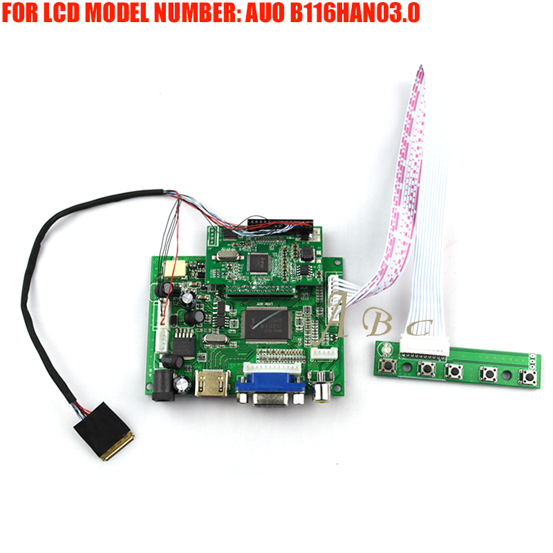 Back To Search Resultscomputer & Office Responsible Hdmi Vga 2av Controller Board Monitor Kit For Auo Optronics B116han03.0 11.6 1920x1080 1080p 30pin Edp Lcd Display Panel Screen Fancy Colours