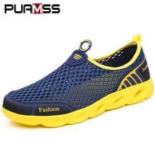 Мужская повседневная обувь; кроссовки; модный светильник; дышащие летние сандалии; уличная пляжная обувь из сетчатого материала; Zapatos De Hombre; мужская обувь