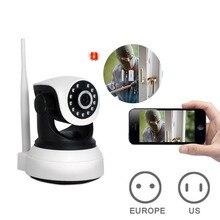 HD Sem Fio Câmera de Segurança IP WifiI Visão Noturna Gravação De Áudio Vigilância Home Security Alarm Indoor Monitor da Segurança Do Bebê