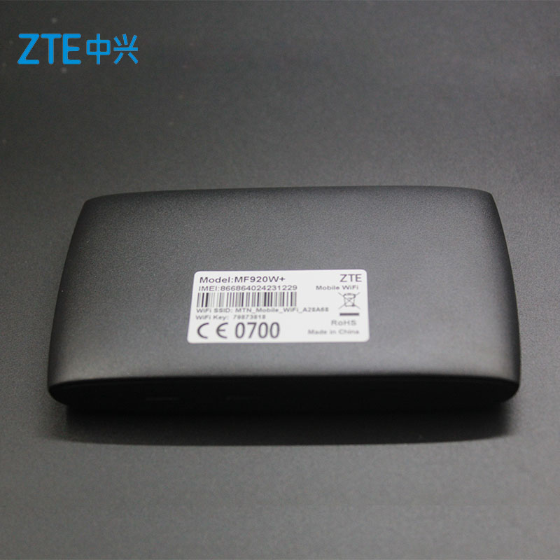 Unlocked New ZTE MF920 MF920W+ 4G LTE 150Mbps Mobile WiFi Hotspot &4G Pocket WiFi Router 4G Wireless Router