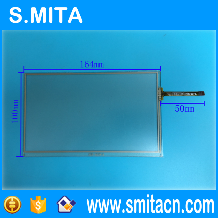 7 inch  Universal  Touchscreen  for Car Audio, Car Navigation DVD ZCR-1879 Touch Screen Digitizer Panel 164mm*100mm 1pc new cute women girls colorful sun flower hair band hair clip hair rope 5colors