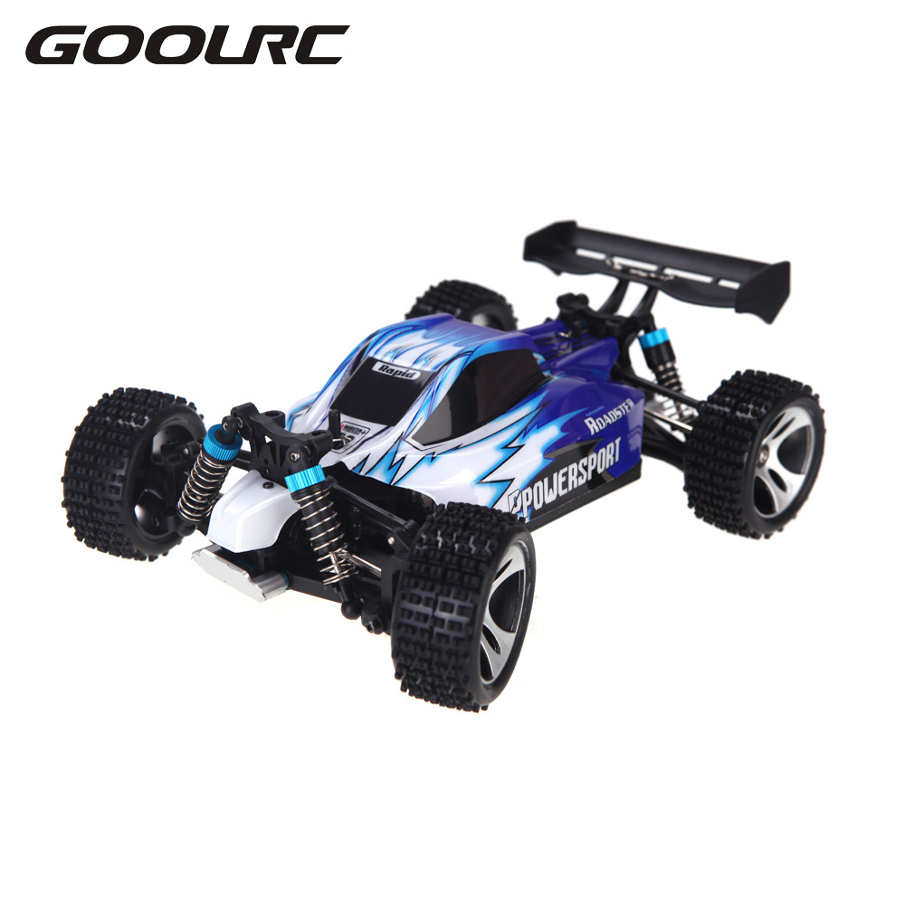 RC Car High Quality A959 Rc Cars 50Km/H 1/18 2.4Gh 4WD Off-Road Buggy Rc Car Remote Control Toys for Children Foys Car For boys goolrc toys a959 a a959 b rc car 1 18 scale 2 4g 4wd electric rtr off road buggy rc cars suv toys radio remote control rc toy