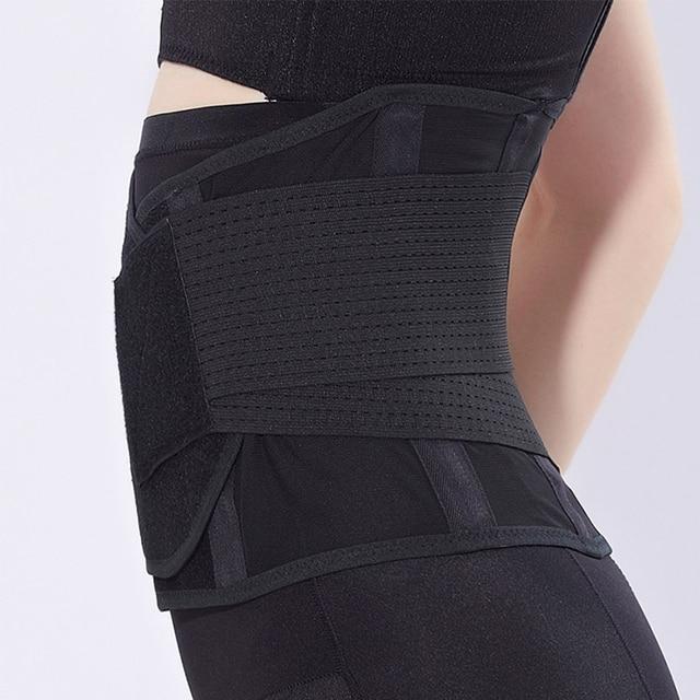 Waist Abdomen Girdle Pregnant Women Postpartum Gauze Strap Belly Band Maternity Belt Toning Back Support Belts 1