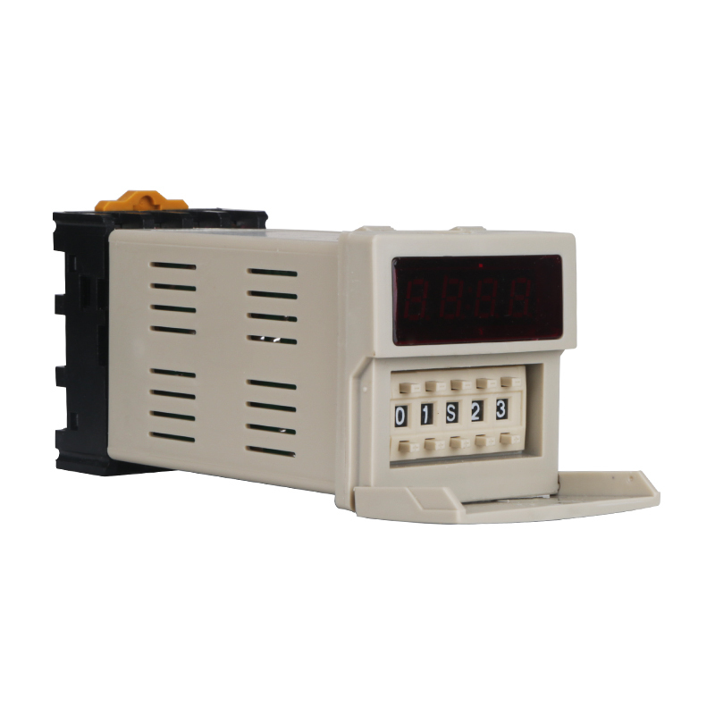 HHS6-1 Relay Number Show Time Delay Controller JSS48A-1Z DH48S Real Improvement Type AC220V genuine taiwan research anv time relay ah2 yb ac220v