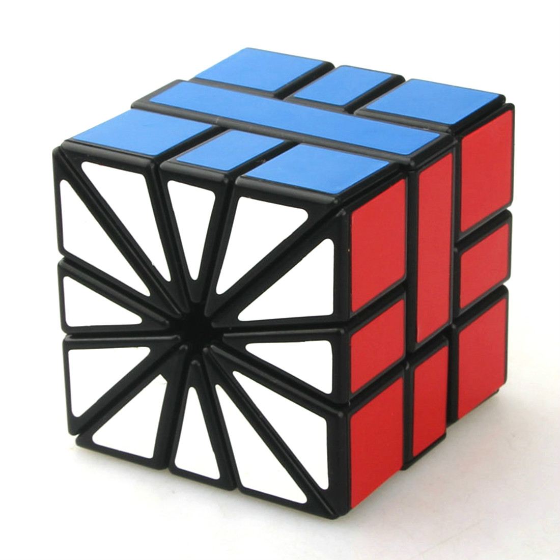 CubeTwist Strange Shape Cube Black White Square II SQ2 3x3x3 Speed Cube Sector Magic Cube Puzzle Toy