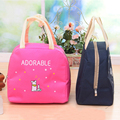 Cute Cartoon Thermal Cooler Waterproof Lunch Bag Women Lunch Tote Thermos Insulated Bags