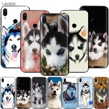 Lavaza coque chien Husky Animal pour Xiaomi Redmi Note 4A 4X5 5A 6 6A 7 S2 Pro Go Prime Plus(China)