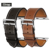 Istrap negro marrón correa de reloj de pulsera de cuero genuino del becerro solo tour de francia para iwatch apple watch band 38mm 42mm