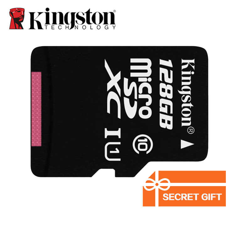 Kingston карта памяти Mini 256 ГБ C10 Micro SD карта, 16 ГБ, 32 ГБ, 64 ГБ, 128 ГБ, класс скорости 10 U1 флеш-карта памяти Micro SD для смартфонов компьютер