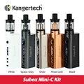 Subox kanger originais mini-c starter kit 50 w com protank 5 atomizador & Caixa Vaporizador Mod Compatível com SSOCC KBOX Mini-C bobina