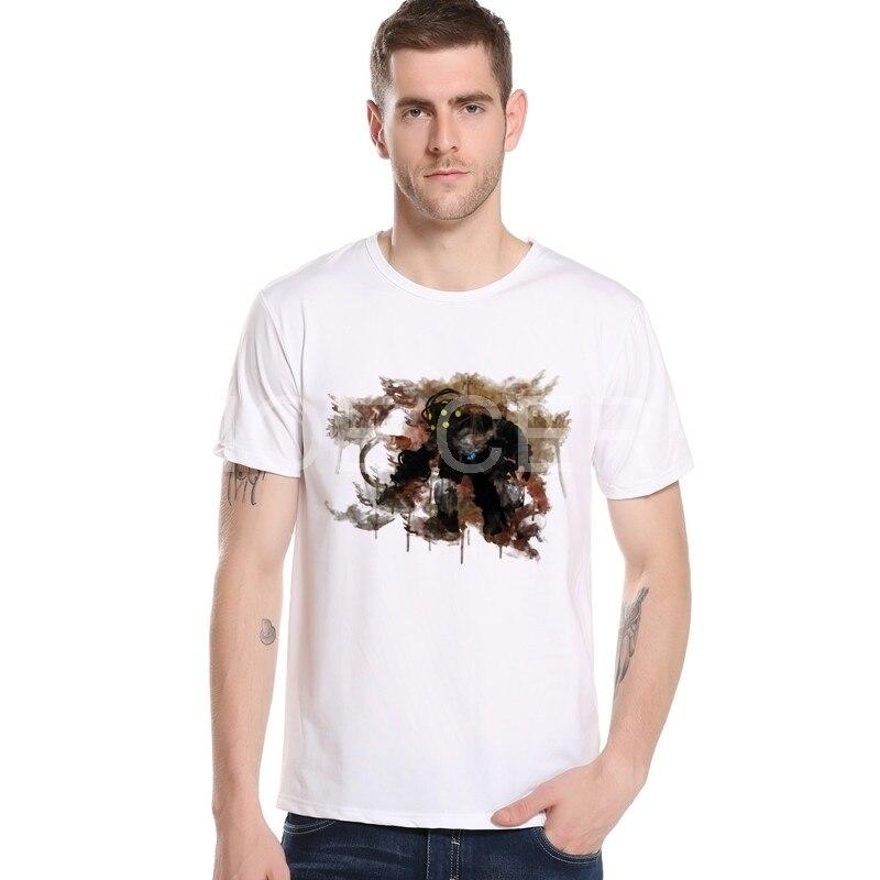 Video games BioShock T-shirt Men Summer Clothes 2018 Bioshock Design Shirt Print Funny High Quality Short Sleeve T shirt M20-12#