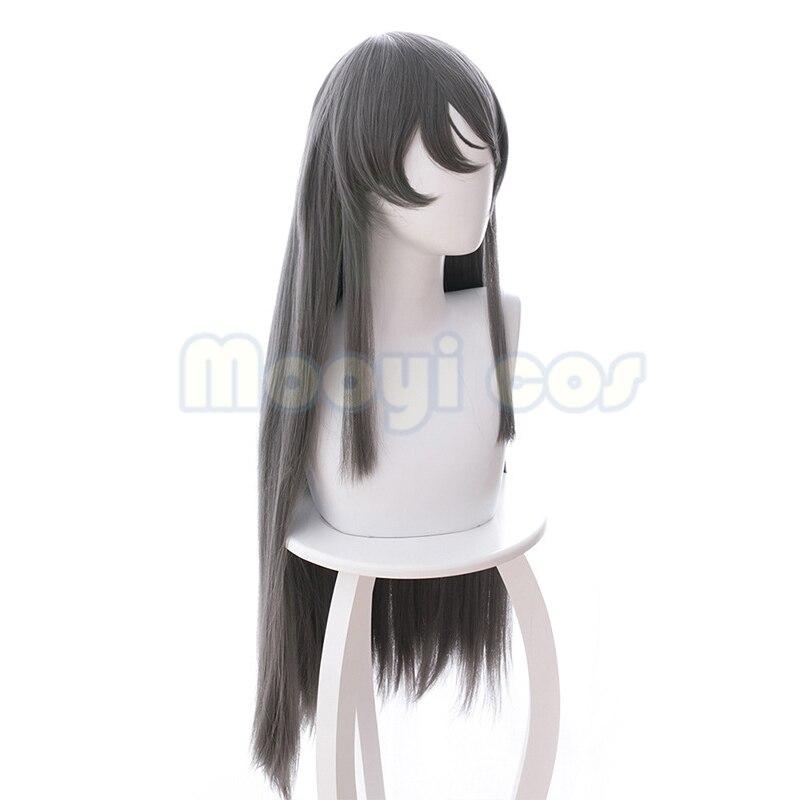 Rascal Does Not Dream of Bunny Girl Senpai Sakurajima Mai Cosplay Hair Wig ZZ
