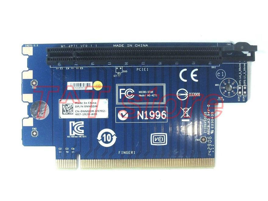 Original NNGDM pour X51 R2 PCIe x16 graphique carte d'extension vidéo MS-4271 0 NNGDM CN-0NNGDM test bonne livraison gratuite