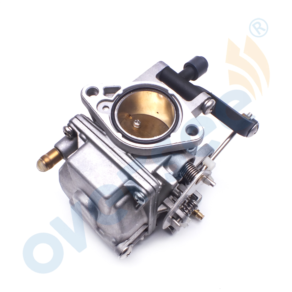US $85 59 15% OFF|61T 14301 Carburetor Assy For Yamaha Old Model 61T 25HP  30HP Outboard Engine Motor 61T 14301 02 61N 14301 04-in Boat Engine from