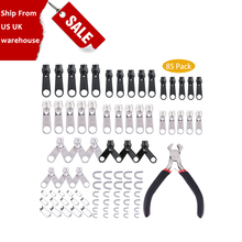 UK/USA In Stock Zipper Repair 85pcs Kit Tools For Clothing Garment Zippers Replacement Rescue Instant Repair Set Install Pliers 6ag1688 3cd13 4ax0 6ag1 688 3cd13 4ax0 membrane keypad for simatic pp17ii repair have in stock