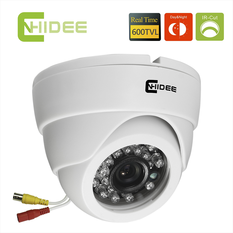 CMOS 600TVL Security CCTV Camera IR Dome Night Vision indoor 20PCS LED IR CUT Filter Distance 20 M Camaras De Seguridad[38] . от Aliexpress INT
