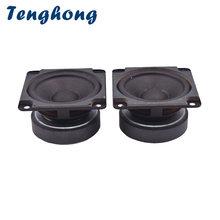Tenghong 2шт 275 дюйма полный диапазон динамик 4 Ом 8 10 Вт