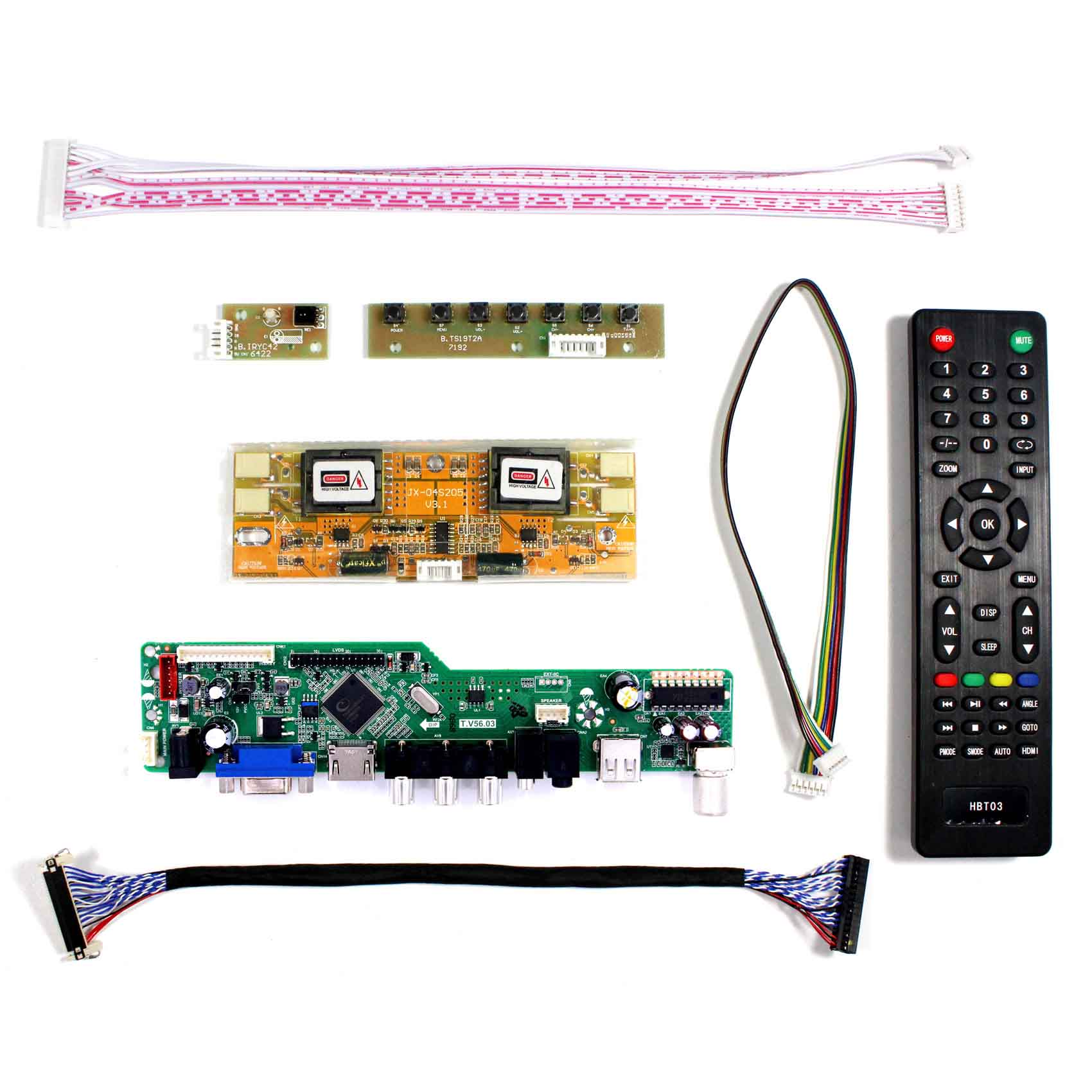 "17"" 19"" 1280x1024 M170EG02 LM190E08 M190E5 G190EG01 LCD Controller Board HDMI Board,Compatible work for Arcade1Up Street Fighter-in Replacement Parts & Accessories from Consumer Electronics    2"