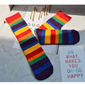 Girls Knee height striped Stockings,baby girls or boys rainbow Tights for Children, Free shipping
