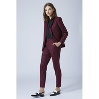 Nova Uva das mulheres ternos de negócio 2 peça conjunto blazer slim fit calças femininas ternos uniformes ladies escritório ternos elegantes calças