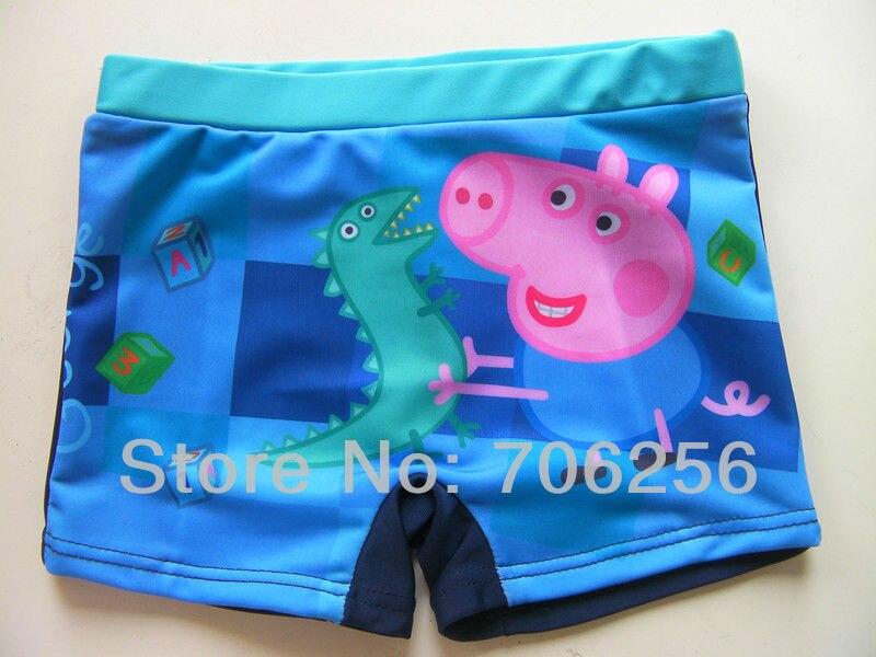 dfd699f547bdf Free shipping George Pig peppa pig boy boys kids swimwear swimmer swim  shorts trunks swimming bathers Design BS05 on Aliexpress.com | Alibaba Group