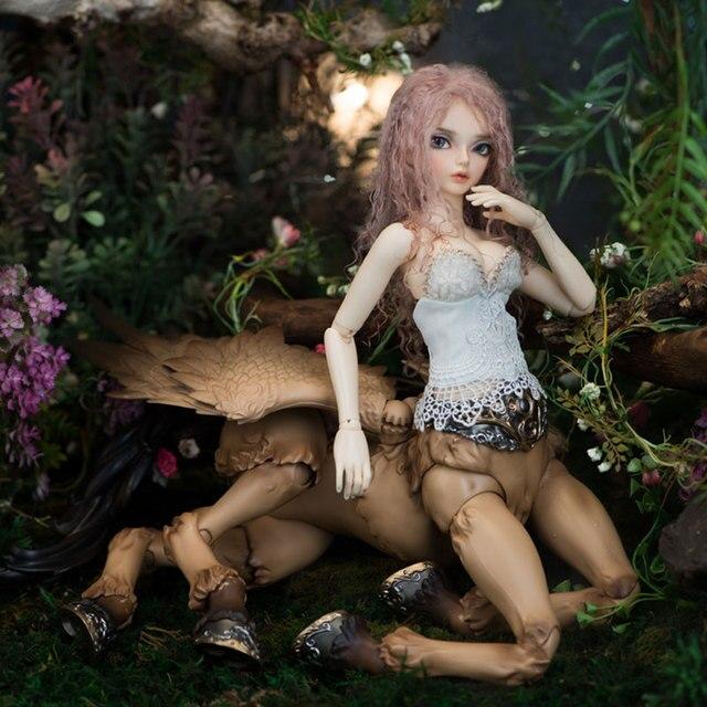 Fairyline Sircca 1/4 bjd sd dolls model reborn girls boys eyes High Quality 1