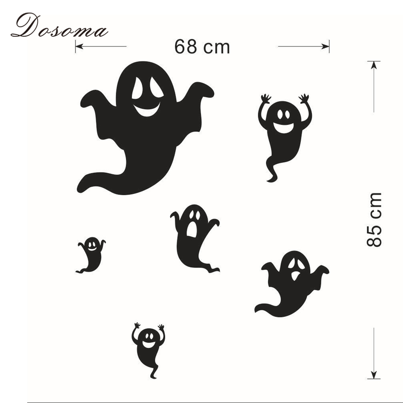 Aliexpress.com : Buy DIY Halloween Wall Stickers Removable