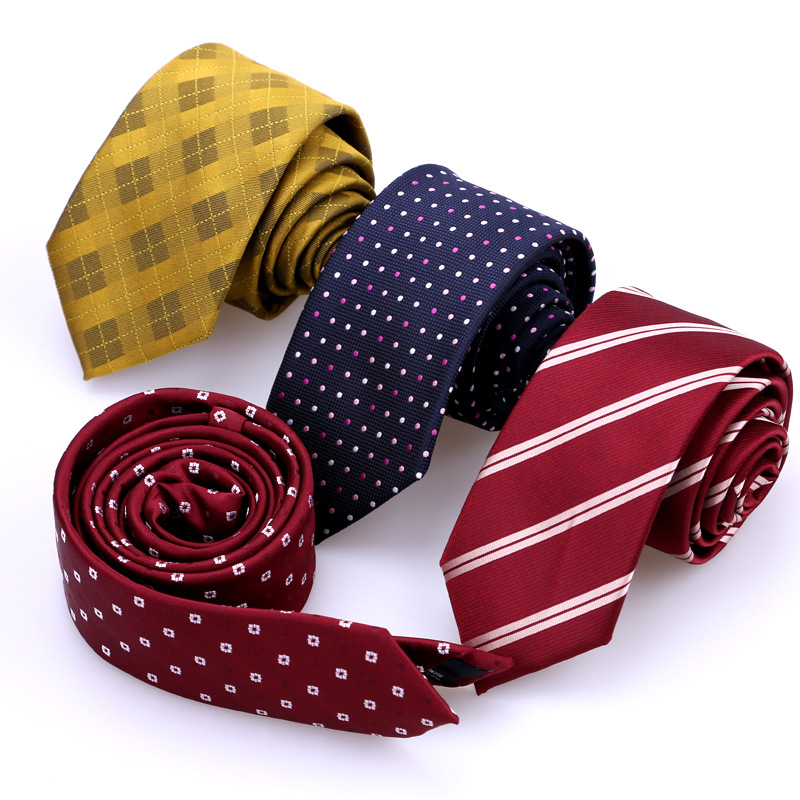 Férfi nyakkendők üzleti pöttyös csíkos vékony nyakkendők férfiaknak esküvői íj nyak nyakkendő divat márka virág Gravata Slim nyakkendő LD8031
