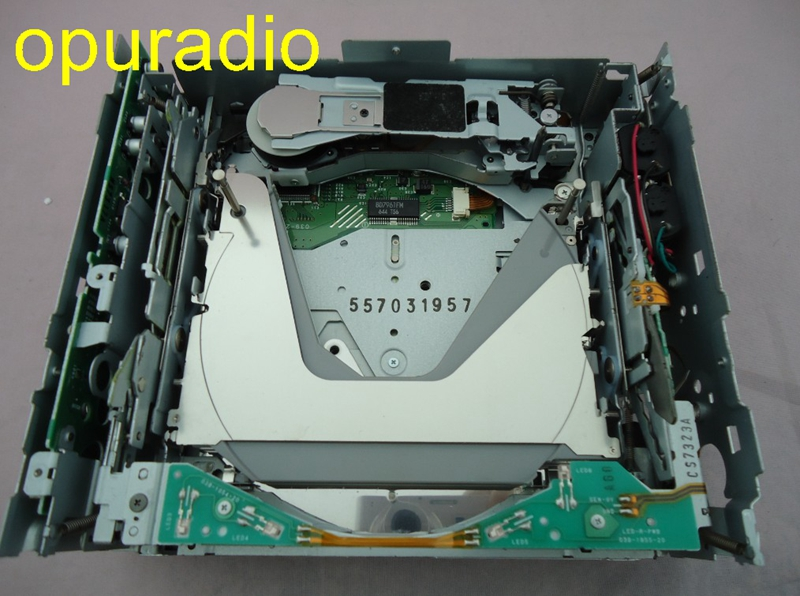 Top quality Clarion 6 disc cd changer PN 2715N PN 2958N PN 2708N loader mechanism with