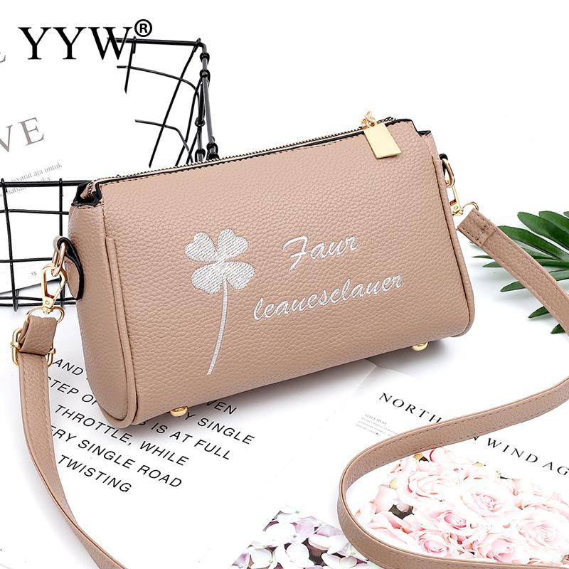 Women Crossbody Shulder Bags Designer Lichee Grain Letter Zipper Bolsas Fashion Pu Leather Durable Office Bag Large Capacity