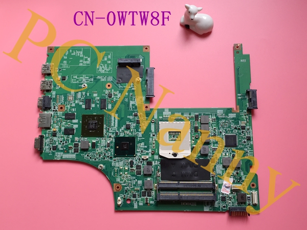 FOR Dell Vostro 3700 Laptop Motherboard HM57 S989 INTEL CPU WTW8F 0WTW8F 48.4RU06.011 NON-INTEGRATED - GOOD