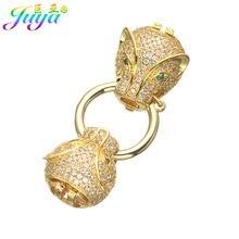 DIY Schmuck Komponenten Liefert Leopard Kopf Drache Block Perlen Verschlüsse Für Natürliche Stein Perle Kristall Armband Halskette Machen