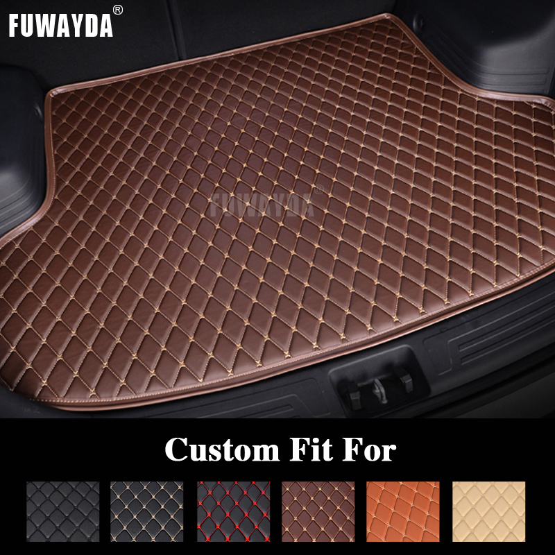 FUWAYDA car ACCESSORIES Custom fit car trunk mat for TOYOTA Fj CRUISER all the years travel non-slip  waterproof Good quality for toyota fj cruiser 2007 13 double