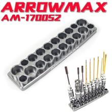 ARROWMAX tool socket model aircraft tools holder bracket can place screwdrivers bearing dismantling tool storage placement rack