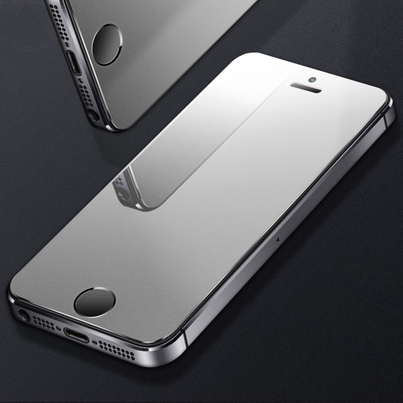 Frosted-Glass iPhone Se Protective Matte for 9h Hardness 6 Explosion-Proof Max-Xr 8 7