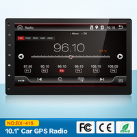 2G+32G Quad 4 Core 2 Din Android 6.0 Car DVD Player 10.1 Inch 1024*600 HD Car GPS Navigation Head Unit Stereo Radio