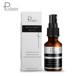 Pudaier 30ml Makeup Setting Spray Matte Finish Bottle Setting Spray Oil-control Natural Long Lasting Make Up Fix Foundation